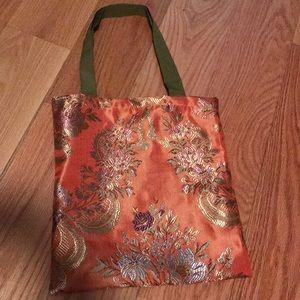Handbags - Mini silk tote bag